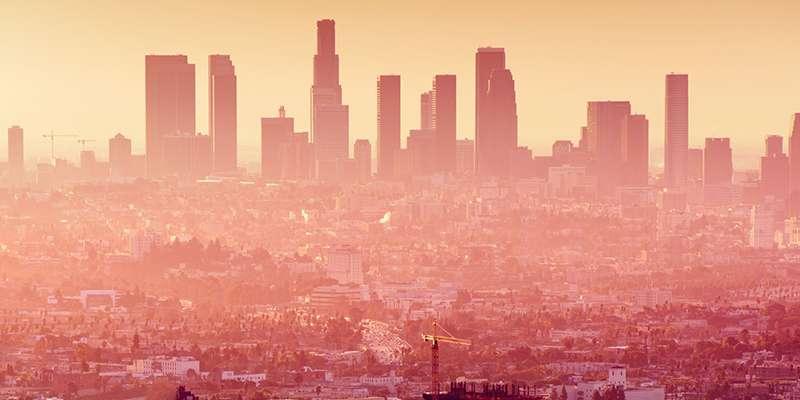 LA Skyline Stock Picture